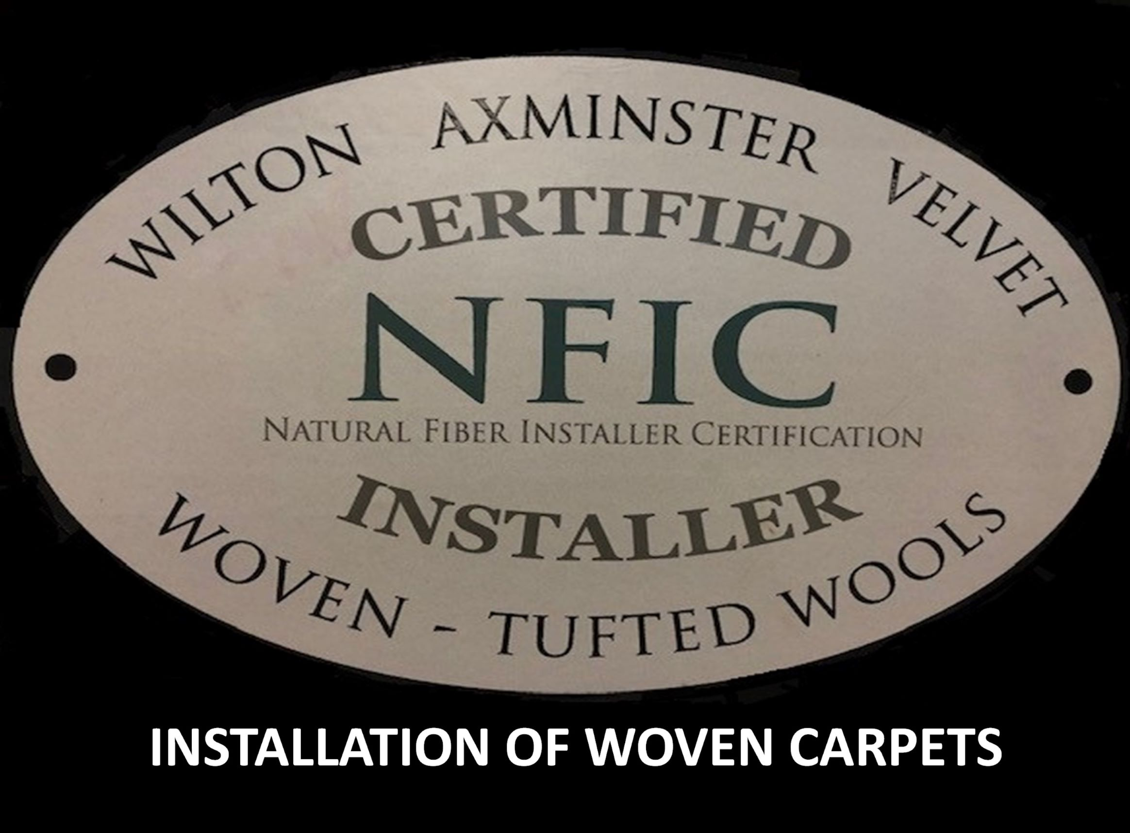 Installation of Woven Carpets NFIC